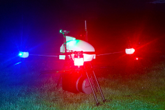 LiDAR scanner operates in the dark like during the day